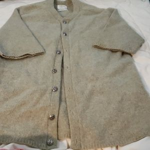 Vintage Men's short sleeve button uncardi